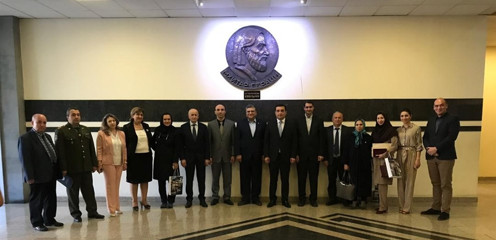Visit of Yerevan State Medical University