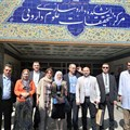 Visiting of dean and vice dean of faculty of pharmacy, Damascus University and dean of the Syrian pharmacist syndicate and the delegation from the Faculty of Pharmacy